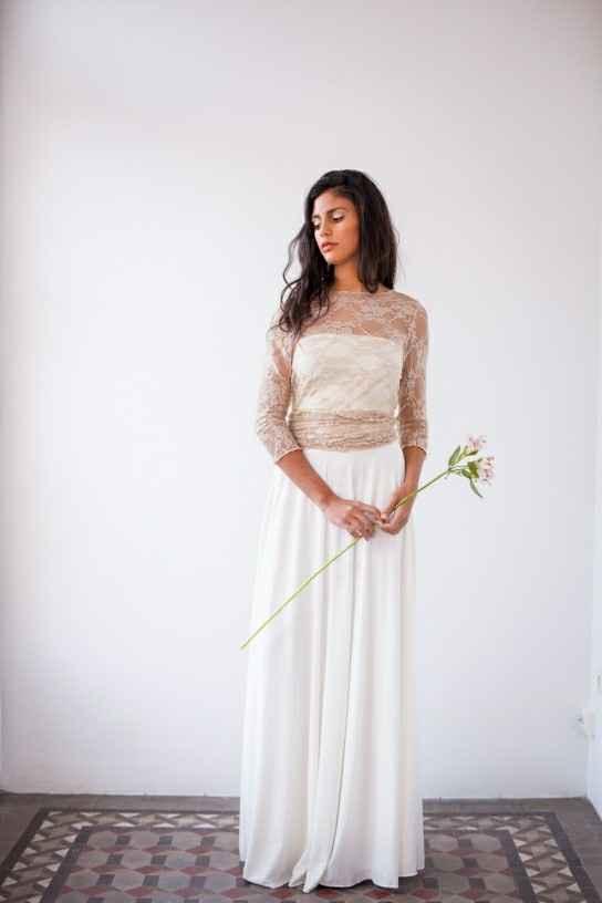 ¿Outfit de novia poco tradicional? - 3