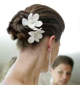 flor pelo