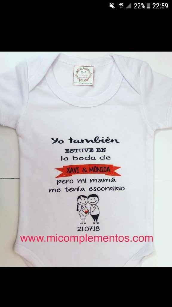 Ayuda body bebé personalizado - 1