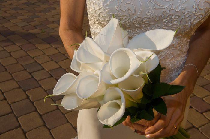 ¿Llevarías un ramo de novia solo de color rosa? 😍 3