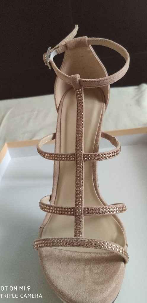 Zapatos de novia con color - 1