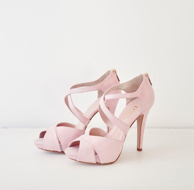 zapatos de novia rosa - moda nupcial - foro bodas