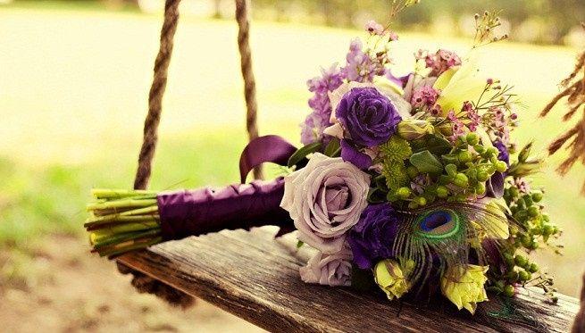 ramo 1, lavanda y rosas