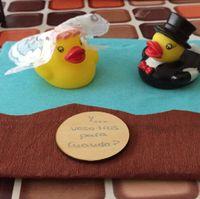Patos agua novios para regalar - 1