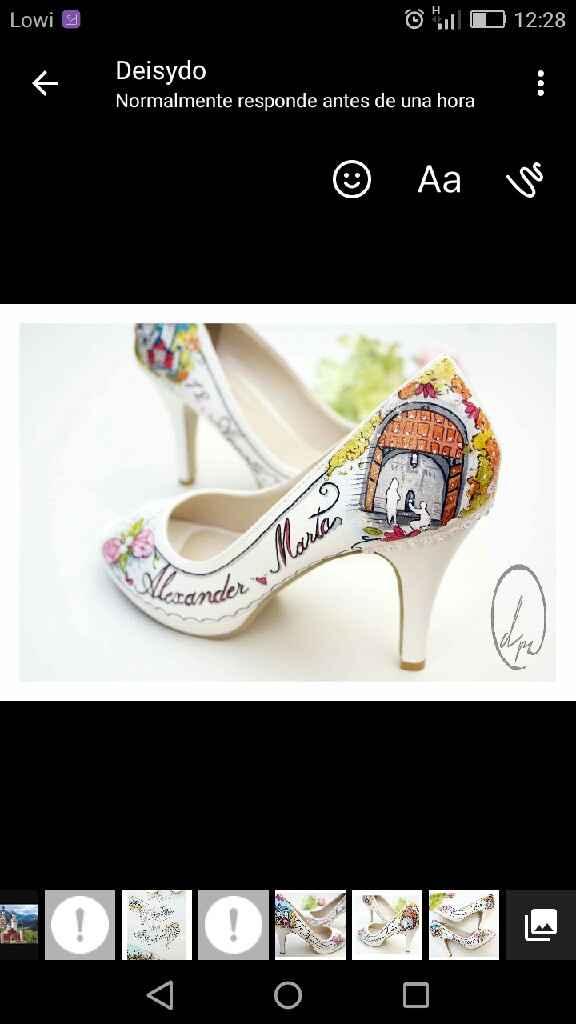 Mis zapatos pintados a mano! - 2