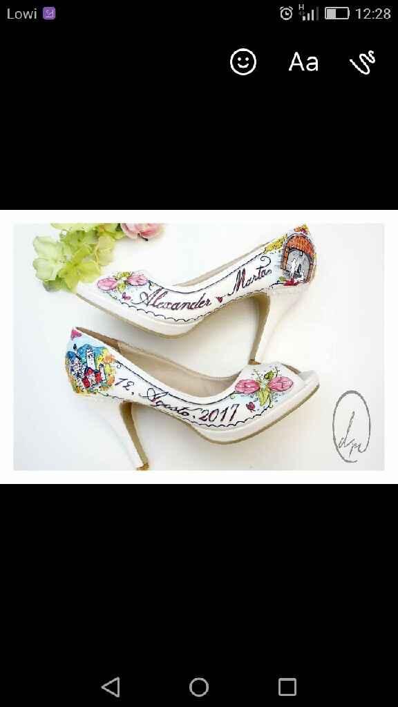 Mis zapatos pintados a mano! - 3
