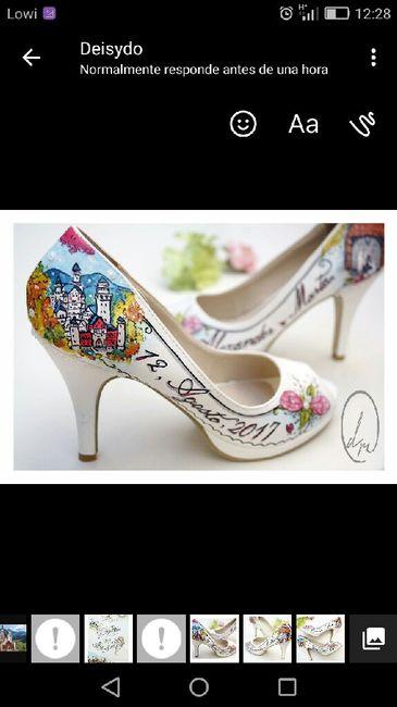 Mis zapatos pintados a mano! - 1