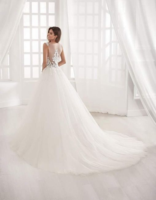 Vestidos para bodas en septiembre 2019