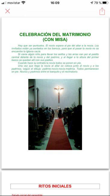 Preparacion de la ceremonia del matrimonio 3