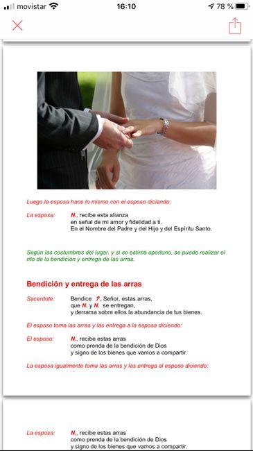 Preparacion de la ceremonia del matrimonio 21