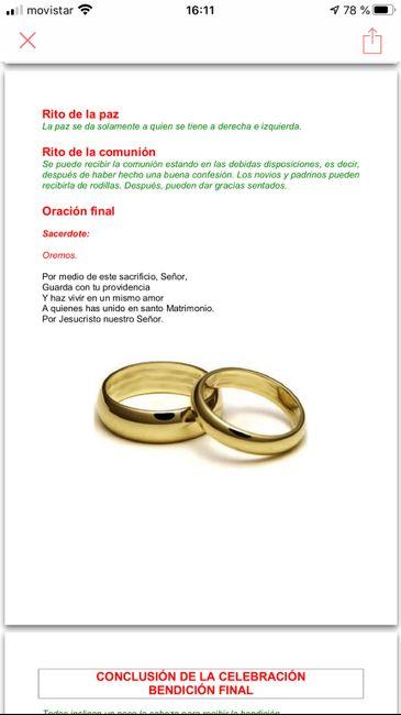 Preparacion de la ceremonia del matrimonio 26