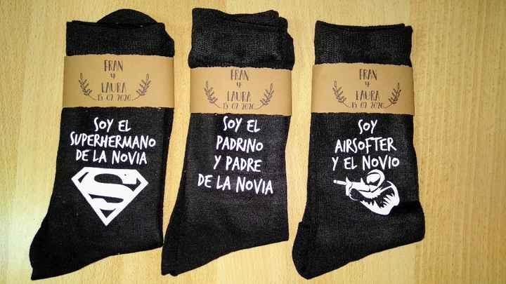 Calcetines personalizados - 1