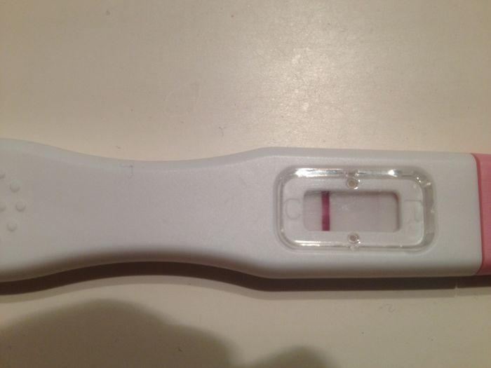 temperatura basal baja y test positivo