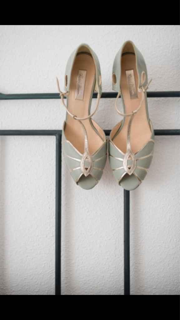 Diferentes zapatos novias 2017 - 3