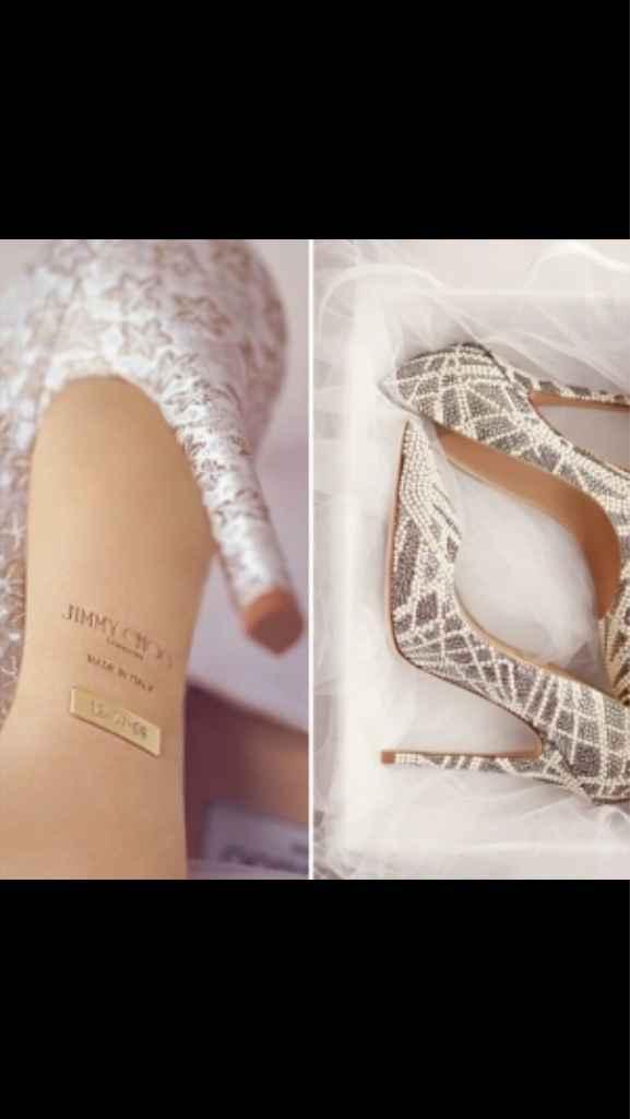 Diferentes zapatos novias 2017 - 4