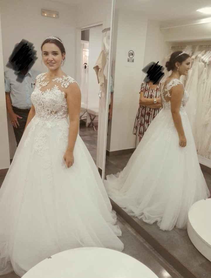 Felicidad White One, mi vestido ❤️ - 2