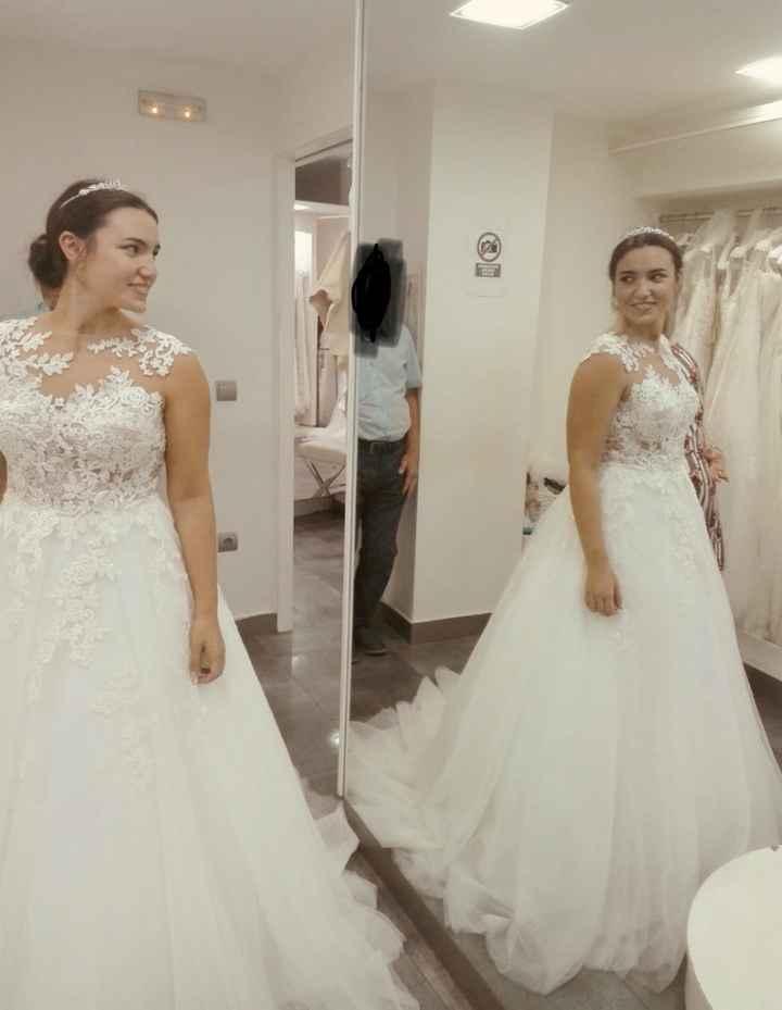Felicidad White One, mi vestido ❤️ - 3