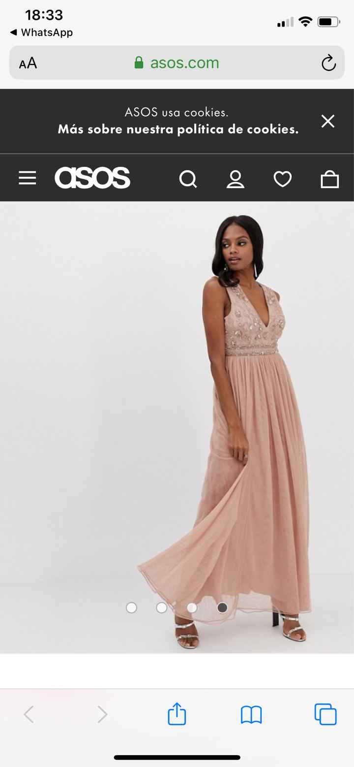 ¿Elegiríais el color rosa para vuestras damas de honor? - 1