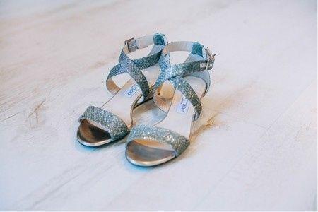 los zapatos de mi boda!