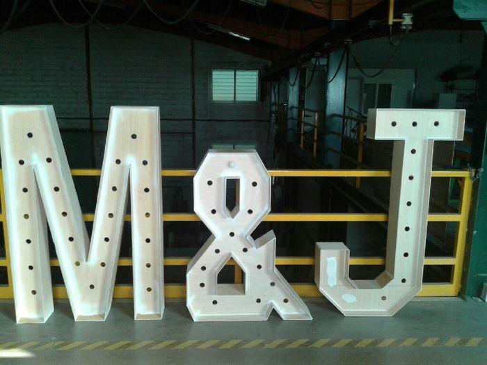Letras gigantes diy con luces manualidades foro for Letras gigantes para bodas baratas