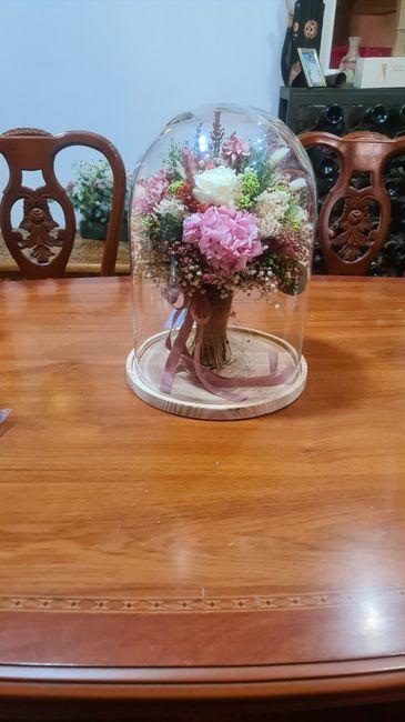 Ramo de flores preservadas 15