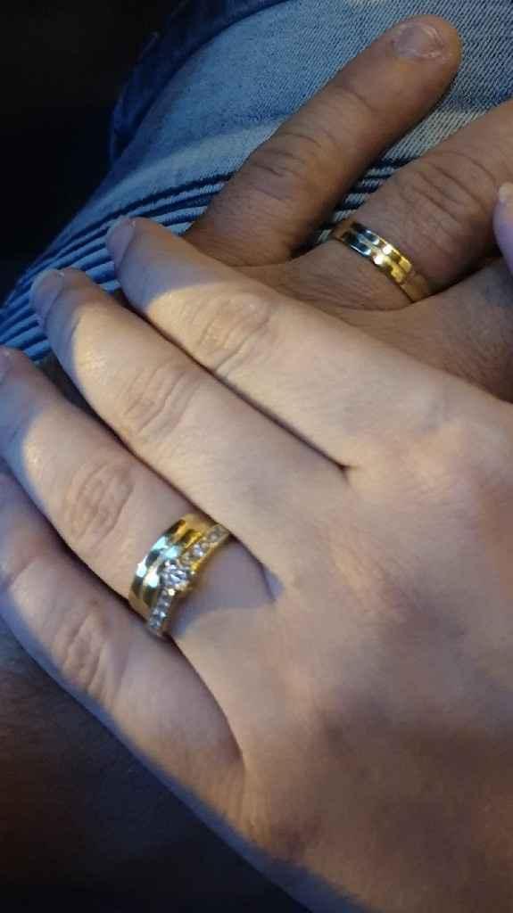 Tipos de alianzas de boda - 1