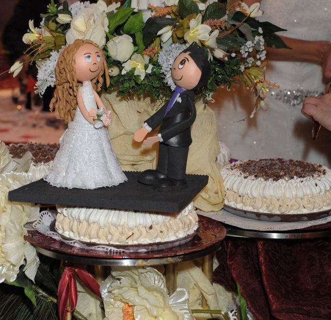 novios tarta