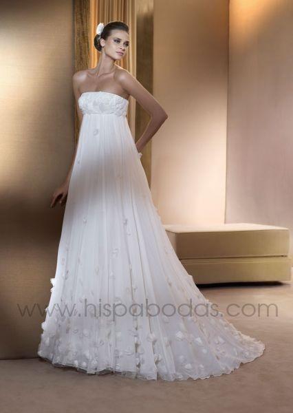 Vestido novia corto outlet madrid