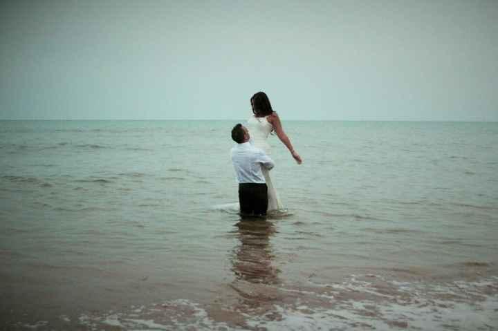 Mi postboda en la playa,calblanque(murcia) - 2