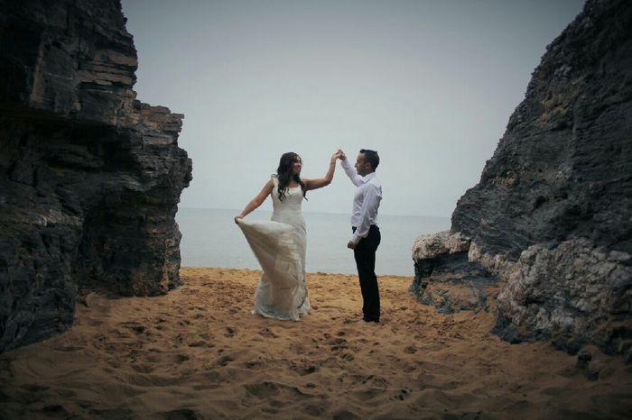 Mi postboda en la playa,calblanque(murcia) - 1