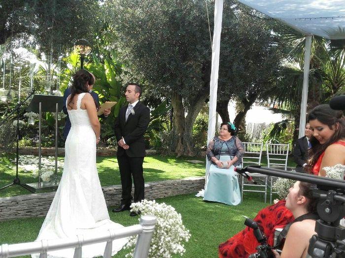 Vestido de novia para ariel (la sirenita) - 1