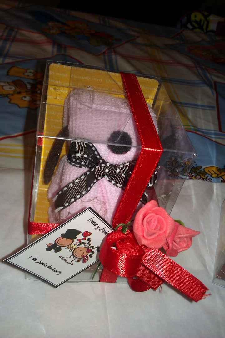 Perrito rosa