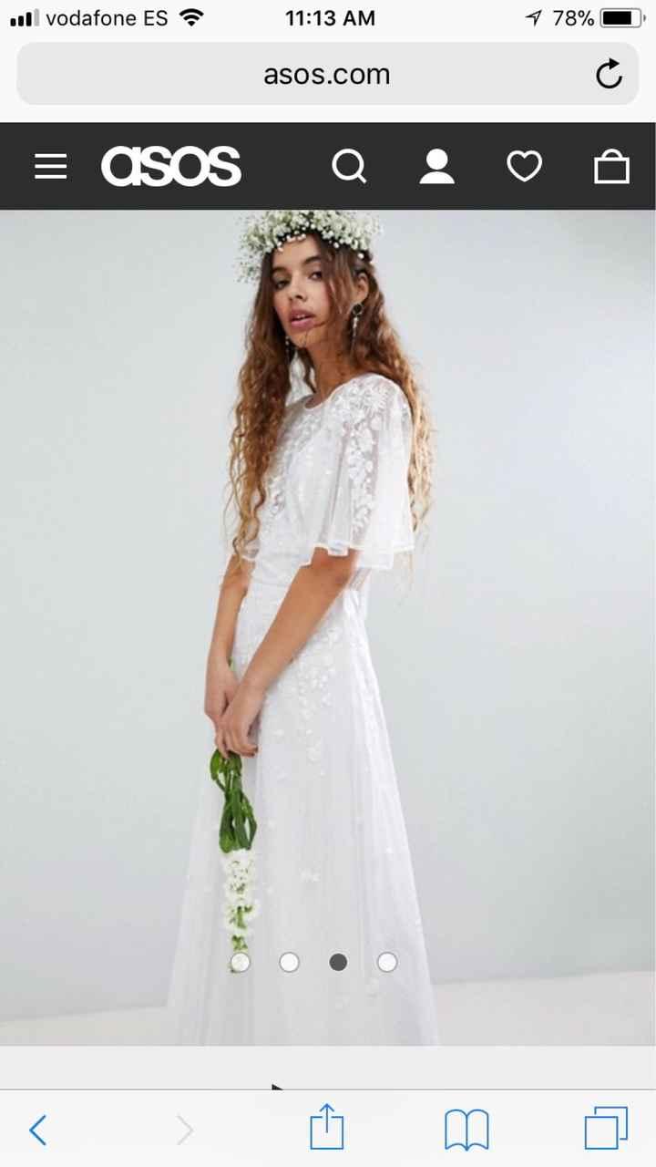 Vestido de novia wish - 1