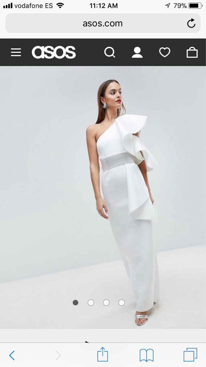 Vestido de novia wish - 2