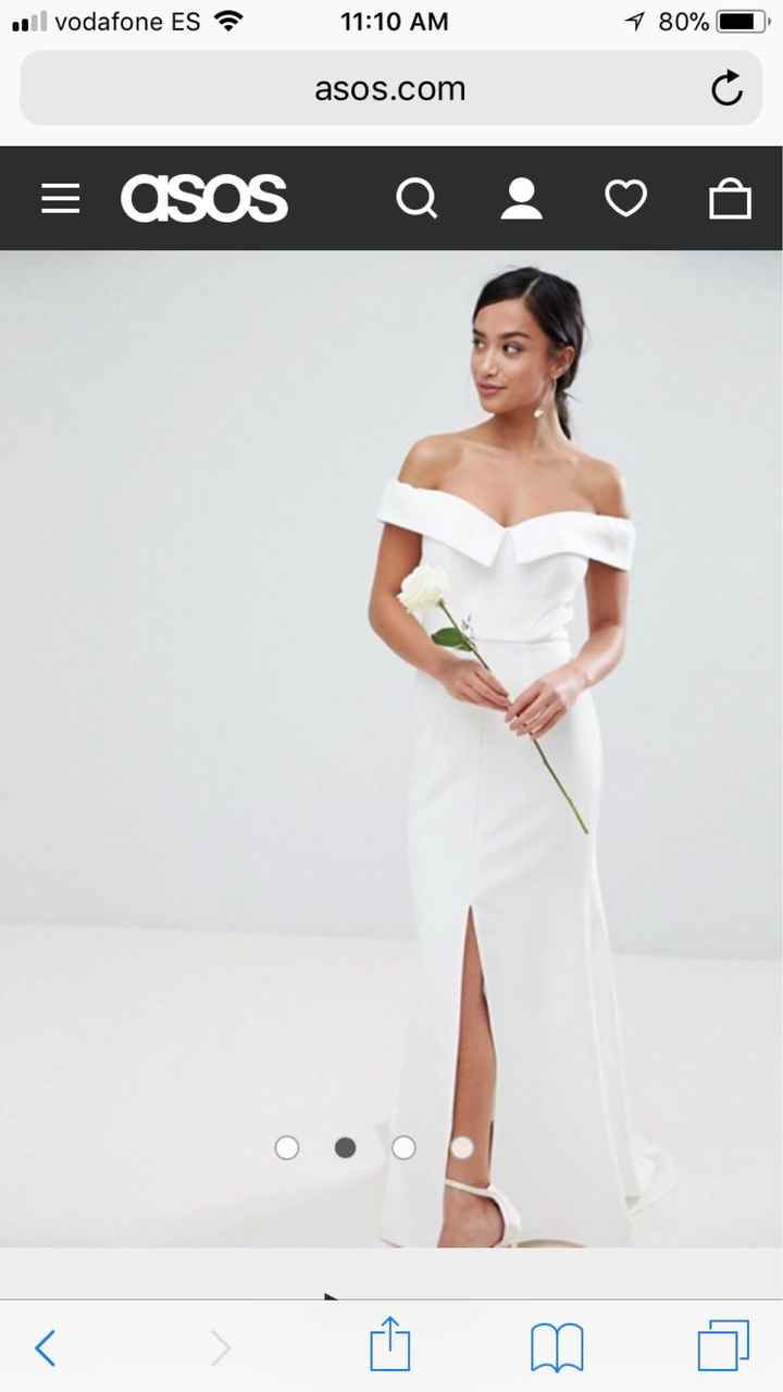 Vestido de novia wish - 3