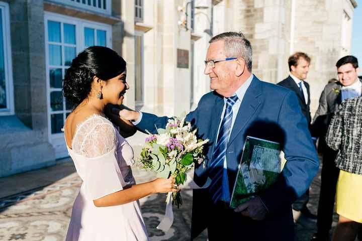 Vestido boda civil (rosa y midi) ayuda ideas - 1