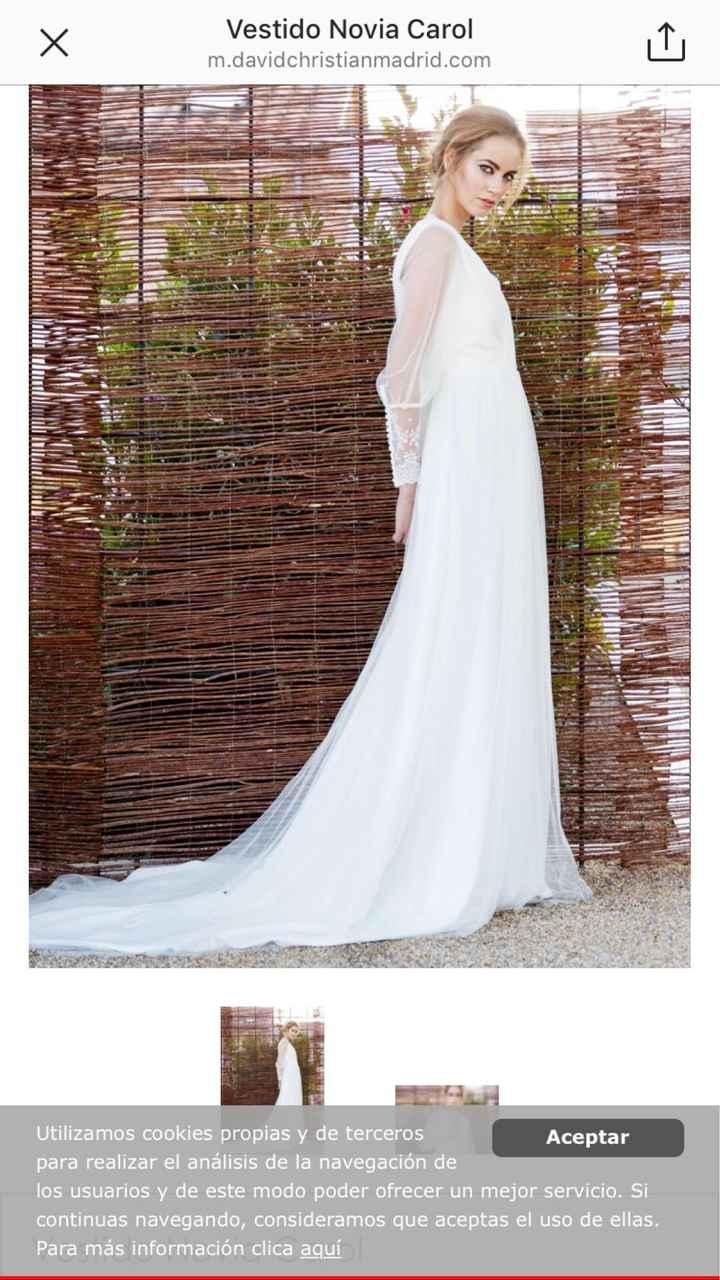 Liquidación vestidos de novia 😱talla 38! - 3