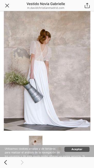Liquidación vestidos de novia 😱talla 38! - 1