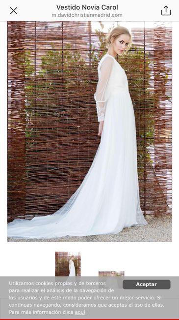 Vestidos de novia talla 38