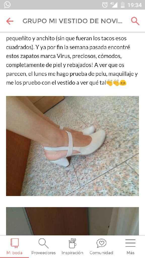 Zapatos con poco tacón y ancho! - 1