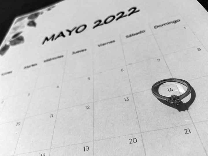 ¿Anunciaréis vuestra fecha con un save the date? - 1