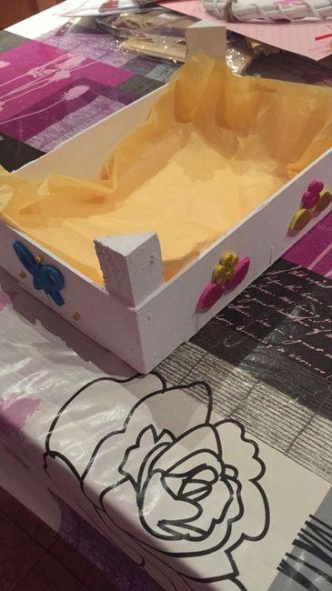 Cajas de fruta  pintadas - 1