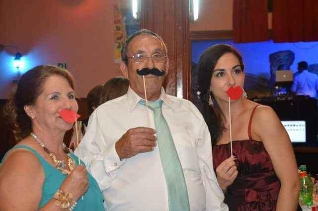 mis suegros y mi cuñada