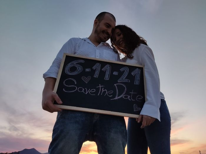 Nuestro save the date! 5