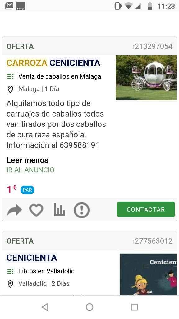 Carroza Disney Cenicienta - 1