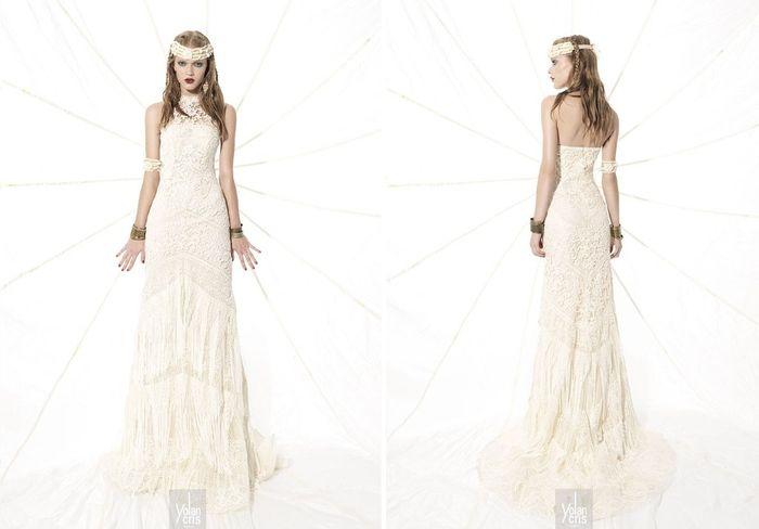 vestido de segunda mano yolancris - moda nupcial - foro bodas