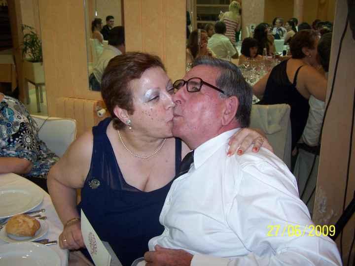 Mi padrino (mi padre ) y mi madre