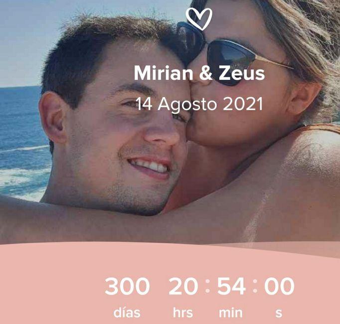 300 días nos quedan💘👰🤵 1