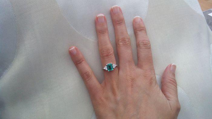 Nuestros anillos de compromiso... - 1