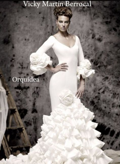 vestidos de novia flamenca - jaén - foro bodas
